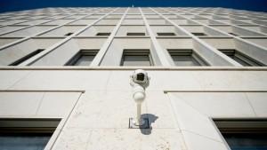 Kampf den Videokameras und anderer Überwachung