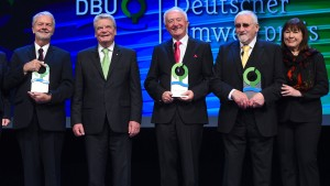 Bundespräsident ehrt Umweltpioniere