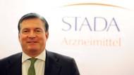 Sieht sich Gerüchten um angebliche Verkaufsgespräche gegenüber: Stada-Vorstandschef Hartmut Retzlaff