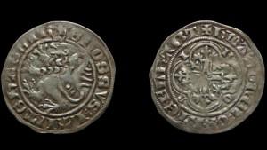 Hessischer Groschen von 1390 entdeckt