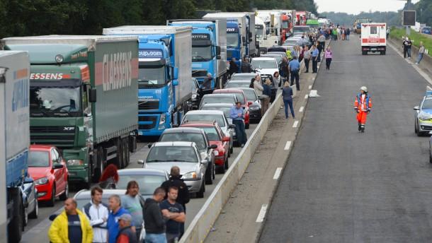 26 Stunden Vollsperrung Richtung Würzburg