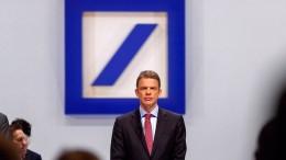 Die Deutsche Bank, der Stellenabbau und die Eintracht