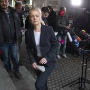Nadja Niesen, Sprecherin der Staatsanwaltschaft Frankfurt, informierte über die U-Haft für einen der in Offenbach festgenommen IS-Anhänger