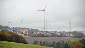 Windräder beschäftigen Region