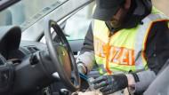 Schleierfahndung auf Autobahn in Hessen