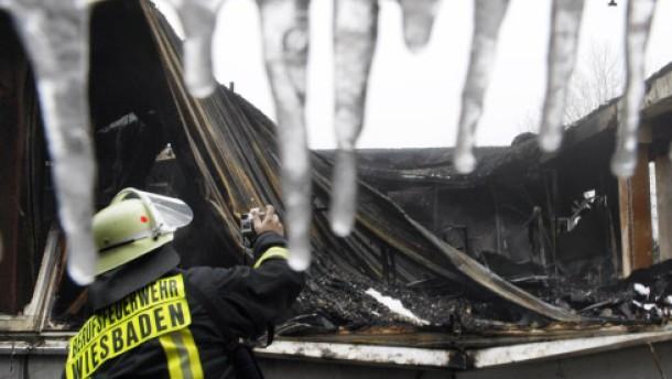 Brandstiftung in Wiesbadener Gymnasium