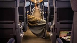 """Eine kurze Nacht im """"Hotel train"""""""