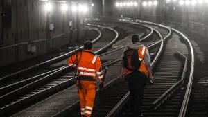 S-Bahn-Verkehr noch bis Donnerstagmorgen gestört