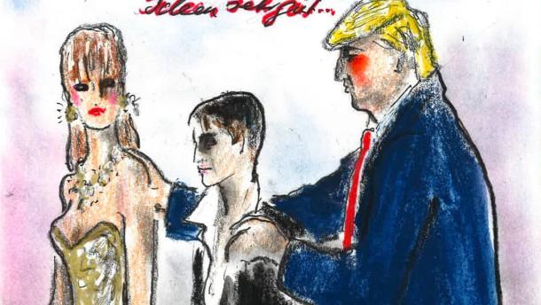 Donald Trump trifft auf Frauke Petry