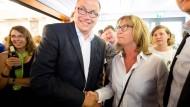 Mann von Unabhängiger Wählerinitiative wird Rathauschef