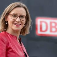 """Sigrid Nikutta, Güterverkehrschefin der Deutschen Bahn: """"Mainz ist das Herz des Güterverkehrs."""""""