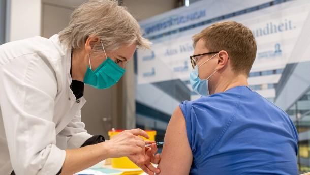 Immunisierung an vorderster Front