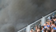 Fan-Krawalle bei Pokalspiel gegen Magdeburg