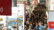 So wird es ganz bestimmt nicht: Gedränge auf der Frankfurter Buchmesse im vorigen Jahr