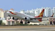 Bald auch Richtung Hunsrück: Flugzeug der Linie Hainan