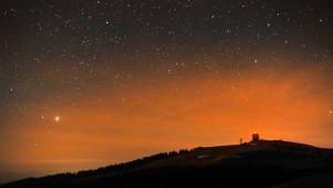 Der Sternhimmel als Parklandschaft