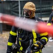 Einsatz: Die Feuerwehr musste in Frankfurt zu einem Wohnungsbrand ausrücken (Symbolbild)