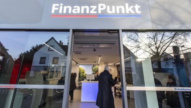 Die Bank als Krisen-Indikator