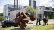 Auf dem Campus Lichtwiese der TU Darmstadt