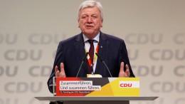 Bouffier als CDU-Bundesvize wiedergewählt