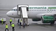 Vor dem Abschied: Germania fliegt nur noch bis Oktober den nordhessischen Regionalflughafen Kassel-Calden an
