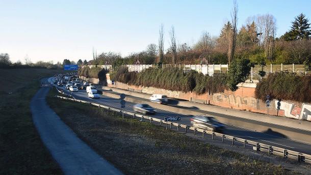 Der Deckel für die A661 kommt in Sichtweite