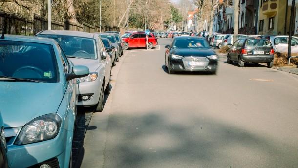 Parkplatzsuche für die Forschung