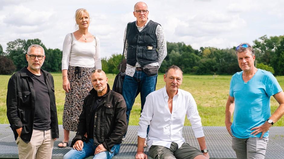 Wollen zusammenziehen: Ingeborg Weber, Otmar Hitzelberger (oben von links), Peter Klopf, Fred Schubert, Andreas Klug und Andreas Obst (unten von links)