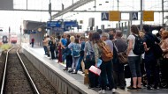 Nicht mit der S-Bahn zum Eintracht-Spiel