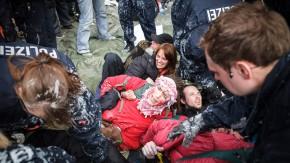 Blockupy - Mögliche Blockaden der drei genannten Banken, EZB, Deutsche Bank und Commerzbank beobachten