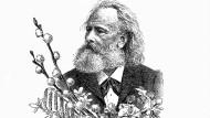 Friedrich Stoltze gilt als zweitwichtigster Dichter Frankfurts. Er lebte von 1816 bis 1891.