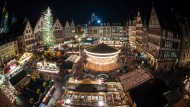 Alle Jahre wieder: Der Frankfurter Weihnachtsmarkt ist der größte seiner Art in Hessen