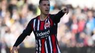 Optimist: Dominik Kohr erwartet einen Frankfurter Erfolg gegen Leverkusen.