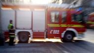 Großeinsatz: Die Feuerwehr in Frankfurt musste zu einem Bauernhof ausrücken.