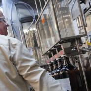 Hilfe: Merck stellt in Darmstadt und Wiesbaden nun Desinfektionsmittel her.