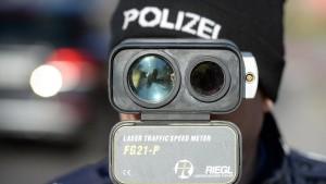 Polizei blitzt in Hessen wieder im großen Stil