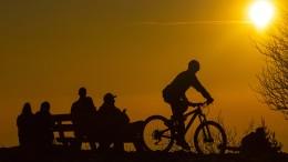 Strahlender Sonnenschein und bis zu 24 Grad warm