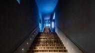 Große Treppe: der Weg in die Ausstellungsstockwerke