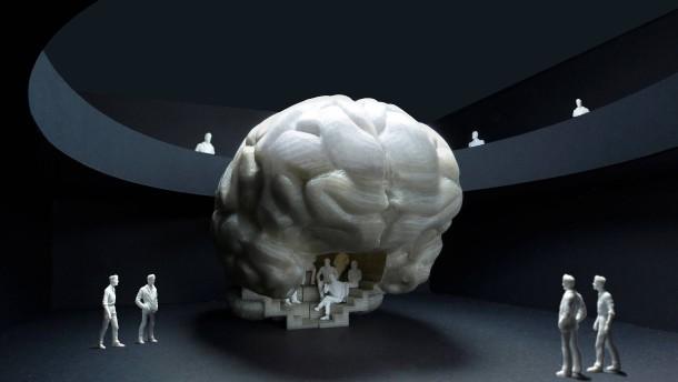 Senckenberg will begehbares Gehirn zeigen