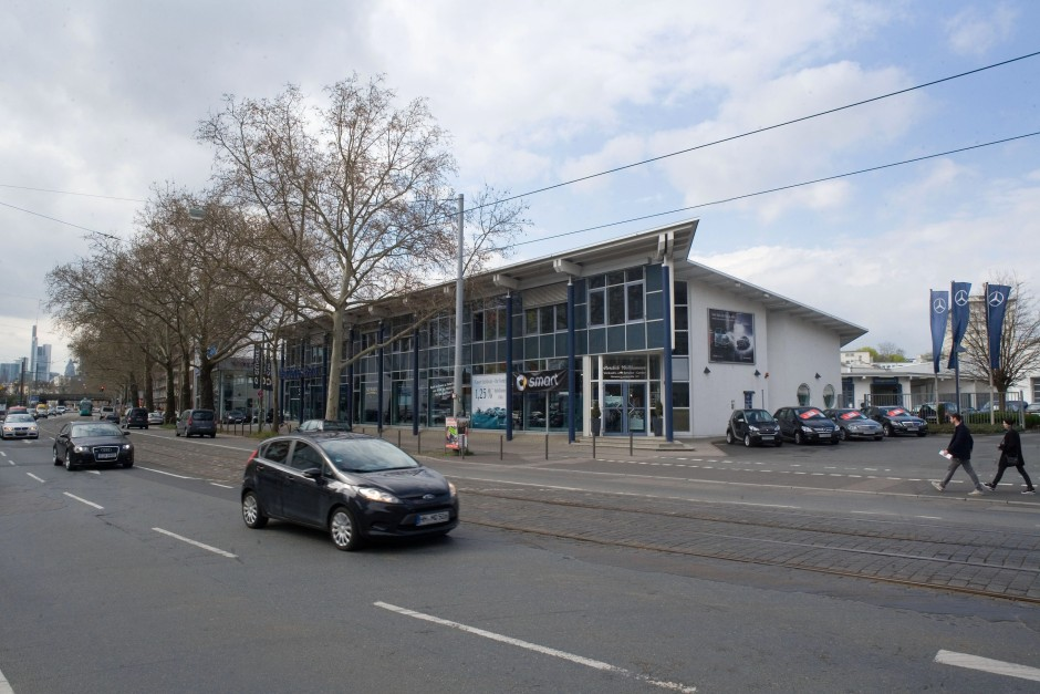 bilderstrecke zu zwei neue grundst cke mercedes plant gro en neuauftritt in frankfurt bild 2. Black Bedroom Furniture Sets. Home Design Ideas