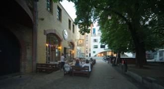 Die Kleine Geisterstadt Frankfurts Hanauer Landstraße