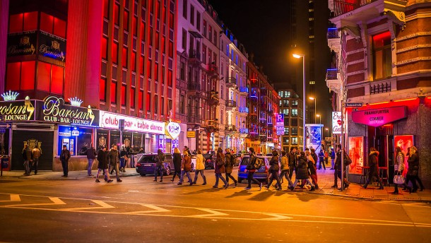 Frankfurt: Blick ins Bordell als Marketing-Gag - Rhein-Main - FAZ