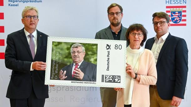 Sonderbriefmarke für Walter Lübcke