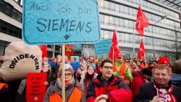 Siemens streicht weniger Stellen in Offenbach als angedroht