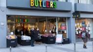 Wechsel: Butlers geht und Depot kommt, zunächst auf Zeit an der Biebergasse.