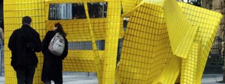 Sperrmüll Bernau zwischenfall sauberes frankfurt kunstwerk als sperrmüll
