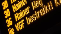 Warnstreiks im Nahverkehr in mehreren Städten Hessens