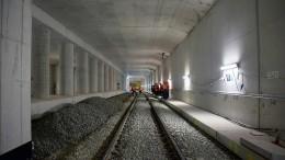 Neue Frankfurter S-Bahn-Station geht ans Netz