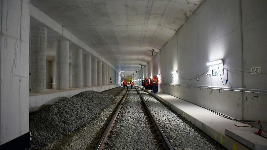 Neu: Die S-Bahn-Station Gateway Gardens, hier ein Bild vom August, geht im Dezember ans Netz.