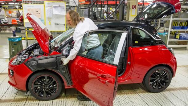 Serienproduktion Opel Adam